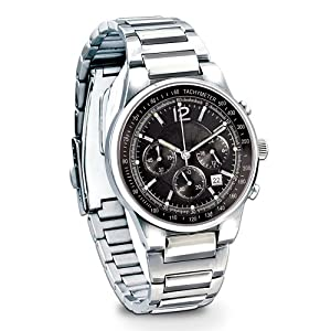 My Son, My Pride And Joy Stainless Steel Chronograph Men's Wrist Watch: Gift For Sons by The Bradford Exchange