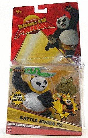 Buy Low Price Mattel Kung Fu Panda Movie Action Figure Battle Sword Po (B0017KCO88)