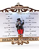 Mr. Christmas Maestro Mouse Presents The Lights and Sounds of Christmas Interactive Musical Light Show Ornament