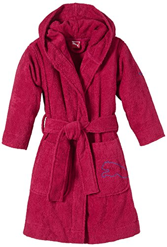 PUMA Kinder Bademantel Kids Foundation Bathrobe, Cerise, 128, 511979 02