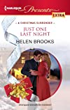 Just One Last Night (Harlequin Presents Extra)