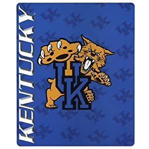Buy Kentucky Wildcats UK Blanket Fleece Throw