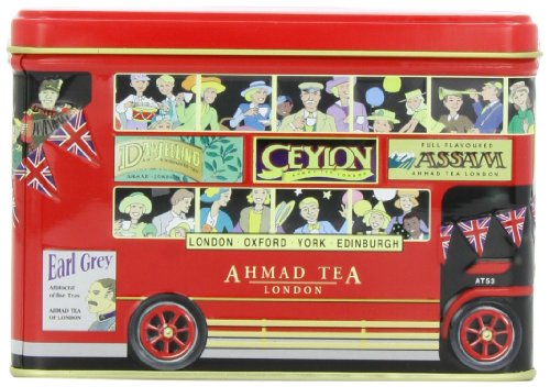 Ahmad Tea London Bus Tin, English Afternoon,