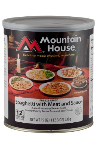 Mountain House #10 Can Spaghetti with Meat and Sauce (10 - 1 cup servings) picture