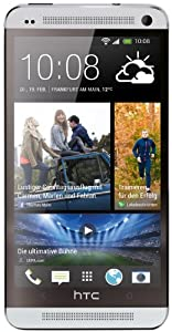 HTC One Smartphone (11,9 cm (4,7 Zoll) Touchscreen-Display, Ultrapixel Kamera, 32 GB interner Speicher, 1,7 GHz Quad-Core Prozessor, 2 GB RAM, LTE, NFC-fähig, BlinkFeed, BoomSound, MicroSIM, Android OS) glacial silver