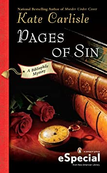 Pages Of Sin: A Bibliophile Mystery An ESpecial From New American Library