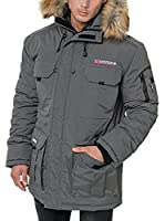 Geographical Norway Abrigo Corto Doudoune (Antracita)