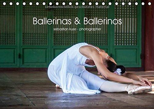 Ballerinas & Ballerinos (Tischkalender 2017 DIN A5 quer): Tanzende Künstlerinnen und Künstler vor urbaner Kulisse. (Monatskalender, 14 Seiten )