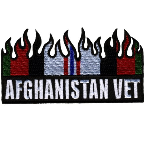 Hot Leathers Afghanistan Vet Flm Flag Patch (4
