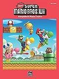 New Super Mario Bros. Wii: Simplified Piano Solos by Koji Kondo (6-Jan-2013) Sheet music