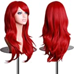 EmaxDesign Wigs 28 inch Wavy Curly Co...