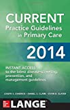 img - for CURRENT Practice Guidelines in Primary Care 2014 book / textbook / text book