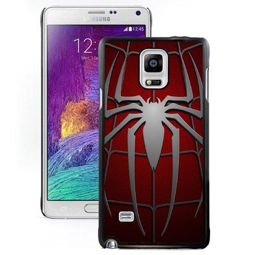 NEW DIY Unique Designed Samsung Galaxy Note 4 Phone Case For Spiderman Symbol Phone Case Cover