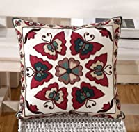 Yecz 18''X 18'' Cotton Linen Decorative Throw Pillow Cover Cushion Case from buoluo