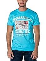 Geographical Norway Camiseta Manga Corta Snht (Turquesa)