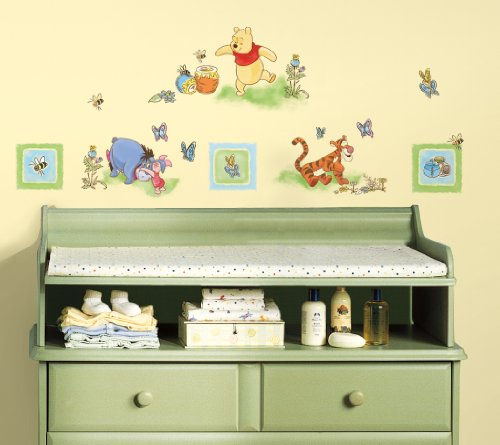 Roommates Winnie The Pooh Toddler Peel & Stick Wall Decals front-79078