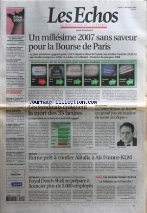 echos-les-no-20078-du-31-12-2007-un-millesime-2007-sans-saveur-pour-la-bourse-de-paris-les-syndicats