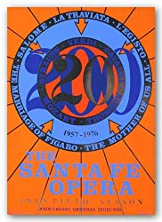 "The Santa Fe Opera by Robert Indiana 31""x22"" Art Print Poster"