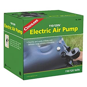 Coghlan's 110/120V Electric Air Pump