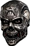 New Scary Halloween Cyborg Robot Terminator Full Mask Adult Standard Picture