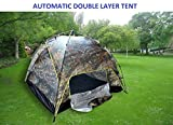 7Trees Automatic Quick Setup 4-Person Double Layer All Season Camping Tent