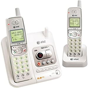 "Vtech Communications Inc El42208 ""At&t"" Analog Dual Handset Answering System - 5.8 Ghz"