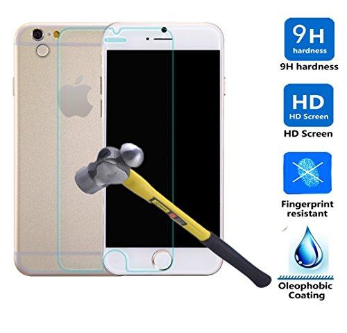 【VSTN】Apple iPhone 6 4.7インチ 専用 強化ガラス フィルム 超耐久 超薄型 高透過率液晶保護フィルム【表面硬度9H・ラウンド処理・飛散防止処理】 (強化ガラスフィルム)