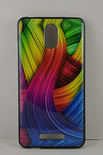 BlueArmor Soft Back Cover Case For Micromax Canvas Evok E483 Design 53