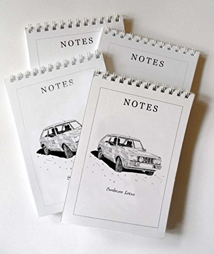sunbeam-lotus-auto-confezione-da-4-a6-notepad-regalo-set