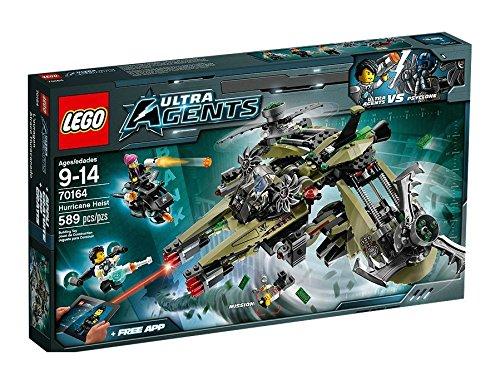 Lego Agents 70164 - Hurrikan-Überfall