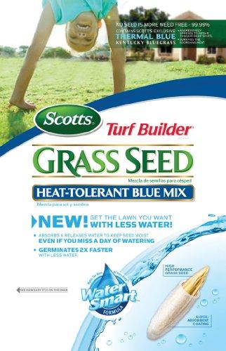 Scotts 18202 Turf Builder Heat Tolerant Bluegrass Seed 7-Pound Bag