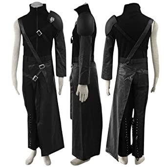 Amazon.com: Final Fantasy VII Cosplay Costume - Cloud Strife Outfit