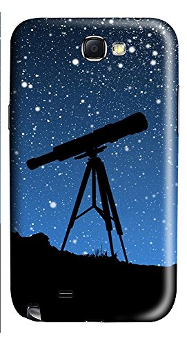 Samsung Note 2 Case Sky Telescope 3D Custom Samsung Note 2 Case Cover