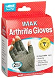 Imak Arthritis Gloves Large Pack of 2