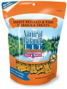 Natural Balance Sweet Potato and Fish Formula Dog Treats from Natural Balance