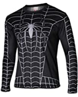 WUKE Men's Spider Man Long Shirt