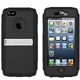 iPhone5専用 耐衝撃・防塵ケース+ベルトホルダー Trident Kraken A.M.S. Case for iPhone5 au SoftBank ソフトバンク トライデント アイフォン5 ケース クラーケン ブラック