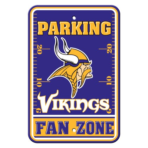 NFL Minnesota Vikings Plastic Parking Signs