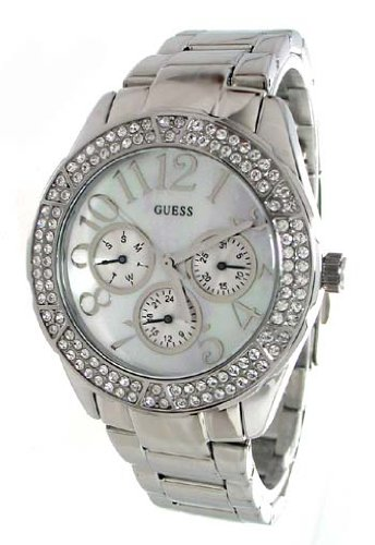 GUESS? Ladies Stainless Steel Bracelet Watch G12510L1