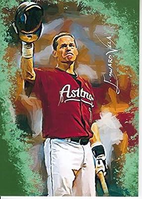 Craig Biggio #2 - #7/25 - VERY RARE! - HALL OF FAME - Houston Astros - Limited Edition Original Artwork Sketch Card