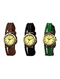 The Gledati 3 Analog Watches Combo For All_ADCOMB0002478