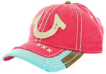 true religion s shoe distresses trucker hat