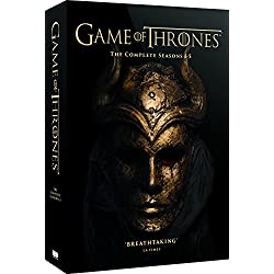 Game of Thrones - Season 1-5 on DVD
