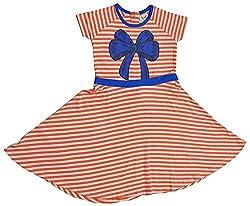 Pinehill Girls' Dress (Multi-Colour, 7-8 Years)