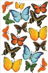 Martha Stewart Crafts Stickers, Butterflies