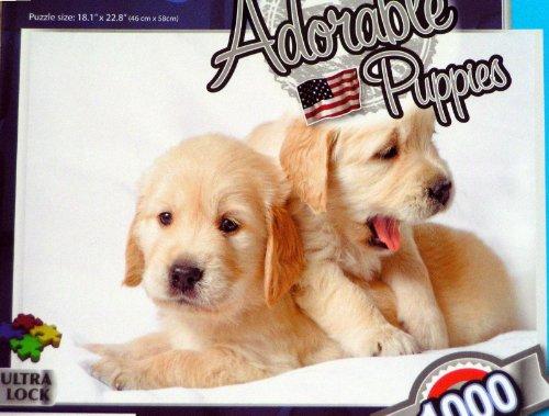 Grafix 1000 Piece. Jig Saw Puzzle- Adorable Puppies
