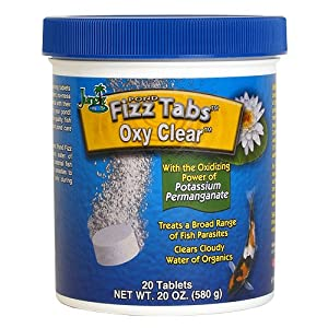 Jungle Labs PT508 Pond Fizz Tabs Oxy Clear, 20 Tab (Discontinued by Manufacturer)