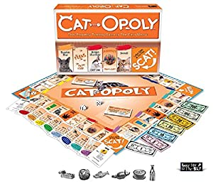 Cat-Opoly Monopoly Board Game by Late for the Sky