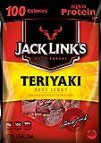 Jack Link's Meat Snacks Beef Jerky, Teriyaki, 1.25 Ounce (Pack of 10)