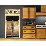 Porte saloon cuisine maison for Porte western cuisine